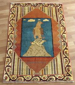 【クーポン50%OFF対象品】ギャッベ ギャベ/カシュガイ、絨毯のような細かな織 172×112cm