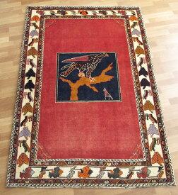 ギャッベ ギャベ/カシュガイ、絨毯のような細かな織 210×138cm