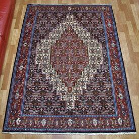 ペルシャ絨毯 サナンダジ 205×140cm