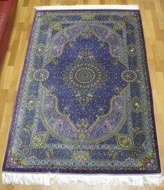 ペルシャ絨毯クム・ジャムシーディ 207×134cm