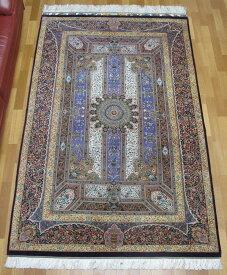 ペルシャ絨毯クム・ジャムシーディ 221×136cm