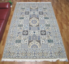 ペルシャ絨毯ナイン・ハビビアン 326×205cm