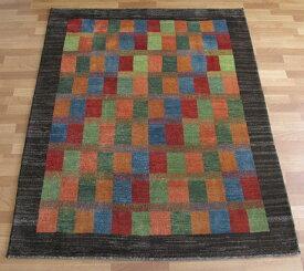 ギャッベ・ゾランヴァリ/シェカルー、細かめのしなやかな織 189×153cm