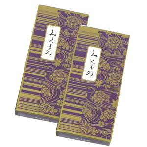 鳩居堂 お線香 みくまの 紙箱(バラ詰) 100g入 2箱セット