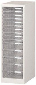 フロアケース A4サイズ 収納レターケース 1列15段 W279×D400×H880 R-A-115