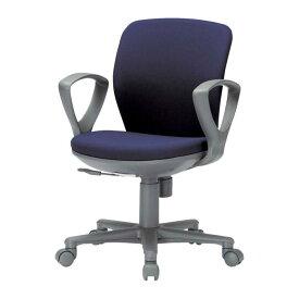 オフィスチェア 布張り ブルー 青 グレー 灰色 グリーン 緑 ブラック 黒 イエロー レッド 赤 OA-1055EJF_ キャスター付き 肘つき 多目的チェア パソコンチェア オフィス チェア 椅子 オフィスチェア OA-1055EJF_ IO-042294N ∴オフィスチェア OA-1055EJF_