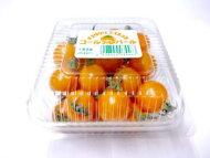 オレンジ系ミニトマト1パック、10〜25個前後、100g〜200g前後