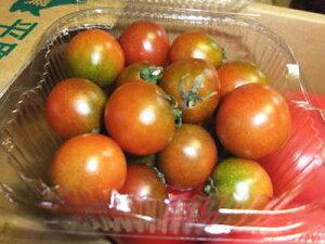 黒系ミニトマト『ブラウントマト』1パック、5〜18個前後、100g〜200g前後