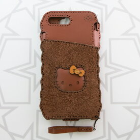 「OJAGA DESIGN」 オジャガデザイン ハローキティ フェイスiPhone7Plus/8Plusケース