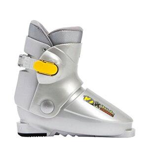 【同時購入 スキーを買うと2,700円引き】 ジュニアスキーブーツ グローヒル10K シルバー