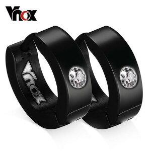 VNOX 高級 海外 人気 トップブランド 男性 メンズ イヤリング カフス EH-117 カラー選択可!