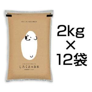 令和元年産(2019年) 新潟県産 コシヒカリ 24kg (2kg×12袋)【白米】【送料無料】【米袋は真空包装】【値下げしました】