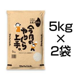【7月のやりくり上手】北海道産 ななつぼし( 10kg | 5kg×2袋 )【 送料無料 ・ 令和元年産 / お米】【白米】【即日出荷】