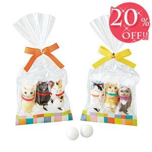 【20%OFF価格】ブライダル ウエルカムアイテム プチギフト 二次会 お返し 結婚式 ウエディング お菓子 チョコレート プレゼント 贈り物「ありがとにゃんチョコ」