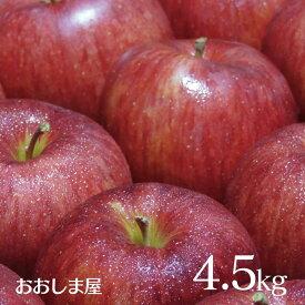 \ポイント2倍/りんご シナノスイート 4.5kg (14〜20玉前後) 送料無料 長野 リンゴ 長野産 長野県 農家直送 国産 フルーツ 果物 大嶌屋(おおしまや)