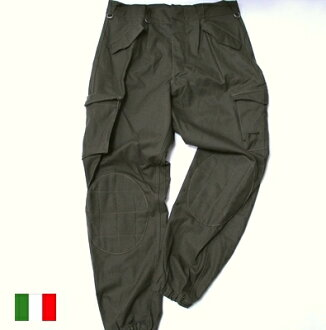 Italian military parachute cargo pant men LL/ combat / forces new article military dead stock