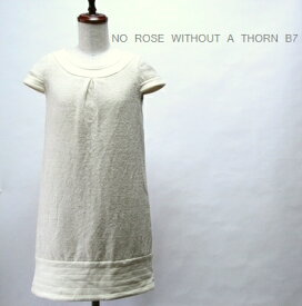 【SALE\2450→\1350】 ベーセッツ / ツイード ワンピース 【中古】 NO ROSE WITHOUT A THORN-B7 /#
