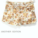 cddae28c54da アナザーエディション   cotton stretch flower short pants shorts floral design bottoms    ANOTHER EDITION   UNITED ARROWS