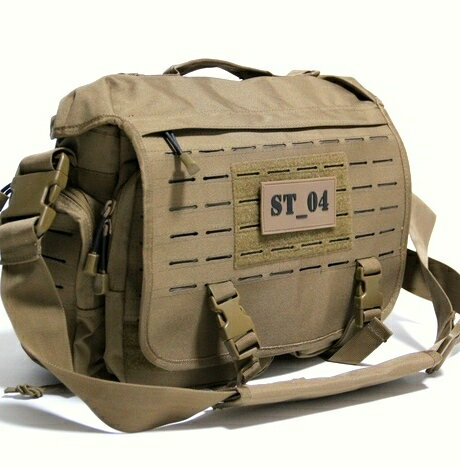 【SALE\12000→\10800】 101INC ミリタリー コンバット ショルダー バッグ 耐久素材CORDURA ST_04 / 10L アーミー リュック カバン 鞄 軍