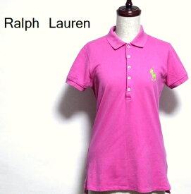 ラルフローレン / パッション ピンク ポロ シャツ 【中古】【メール便・送料無料】 半袖 カットソー Tシャツ トップス / Ralph Lauren / #