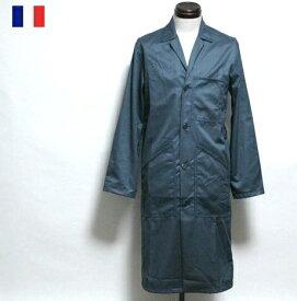 【SALE\4650→3650】 フランス ワーク シャツ ロング ジャケット VTN / ブルゾン アウター / ヨーロッパ デッドストック