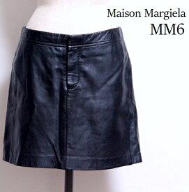 メゾン マルジェラ MM6 / 美品 レザースカート 【中古】エムエム6 Maison Margiela / マルタン マルジェラ #