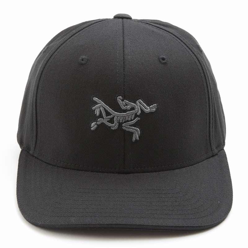 アークテリクス キャップ ARC'TERYX Embroidered Bird Cap エンブロイダード バードキャップ 帽子 メンズ 7978 ブラック 【新品】