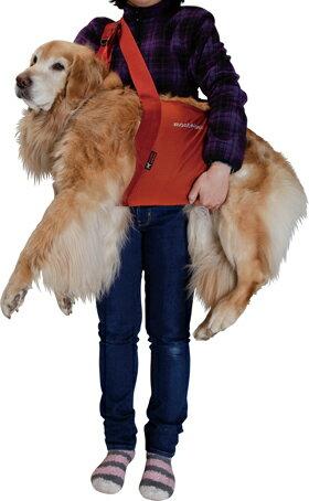 【大型犬用介護用品】モンベル(mont-bell)ドギーキャリーハーネスだっこ紐【あす楽対応】