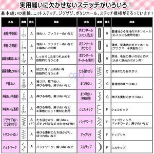 【送料無料】ジャノメコンピュータミシンJN-51[JA067]