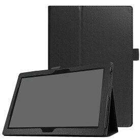 【送料無料】LAVIE Tab E TE510/HAW PC-TE510HAW/Lenovo Tab 4 10 plus / Lenovo Tab 4 10 ケース マグネット開閉式 二つ折カバー スタンド機能付きケース 薄型 軽量型 スタンド機能 高品質PUレザーケース