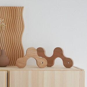 【楽天倉庫からの発送】ウッド オブジェ 木 木製 ナチュラル おしゃれ インテリアトレイ 置物 トレー 北欧 韓国インテリア