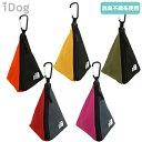 【2個までメール便配送可】 WALKA HOLIC 三角マナーポーチ バイカラー 全5色 【IDOG&ICAT】 犬 お散歩 マナーポーチ …