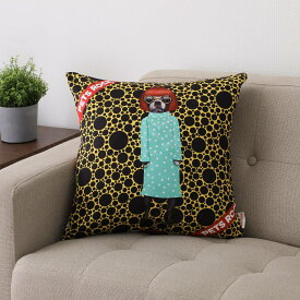 PETS ROCK(ペッツロック)クッションカバー【レッドヘア】【公式オンラインストア】 We Love Cushions takkoda ペット セレブ 有名人 犬 猫 ドッグ キャット レディース