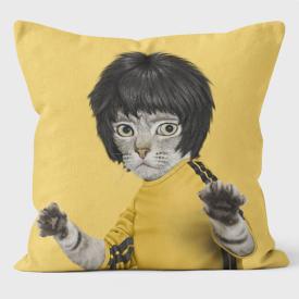 PETS ROCK(ペッツロック)クッションカバー【Kung Fu】【公式オンラインストア】 We Love Cushions takkoda ペット セレブ 有名人 犬 猫 ドッグ キャット レディース