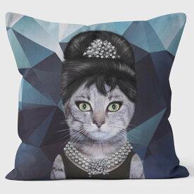 PETS ROCK(ペッツロック)クッションカバー【BREAKFAST GEOMETRIC】【公式オンラインストア】 We Love Cushions takkoda ペット セレブ 有名人 犬 猫 ドッグ キャット レディース