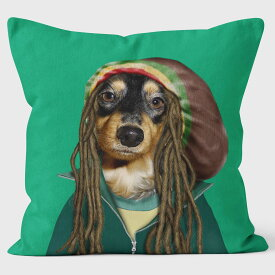 PETS ROCK(ペッツロック)クッションカバー【REGGAE】【公式オンラインストア】 We Love Cushions takkoda ペット セレブ 有名人 犬 猫 ドッグ キャット レディース