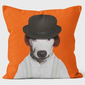 PETS ROCK(ペッツロック)クッションカバー【DYSTOPIA】【公式オンラインストア】 We Love Cushions takkoda ペット セレブ 有名人 犬 猫 ドッグ キャット レディース