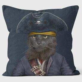 PETS ROCK(ペッツロック)クッションカバー【CATBEARD PIRATE 】【公式オンラインストア】 We Love Cushions takkoda ペット セレブ 有名人 犬 猫 ドッグ キャット レディース