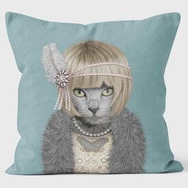 PETS ROCK(ペッツロック)クッションカバー【DAISY】【公式オンラインストア】 We Love Cushions takkoda ペット セレブ 有名人 犬 猫 ドッグ キャット レディース