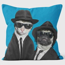 PETS ROCK(ペッツロック)クッションカバー【BROTHERS】【公式オンラインストア】 We Love Cushions takkoda ペット セレブ 有名人 犬 猫 ドッグ キャット レディース