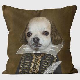 PETS ROCK(ペッツロック)クッションカバー【SHAKESPEARE】【公式オンラインストア】 We Love Cushions takkoda ペット セレブ 有名人 犬 猫 ドッグ キャット レディース