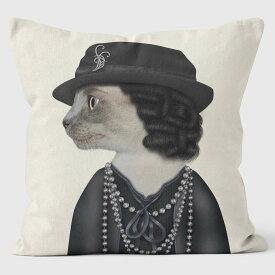 PETS ROCK(ペッツロック)クッションカバー【PARIS】【公式オンラインストア】 We Love Cushions takkoda ペット セレブ 有名人 犬 猫 ドッグ キャット レディース
