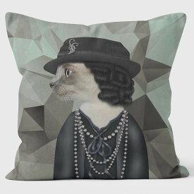 PETS ROCK(ペッツロック)クッションカバー【PARIS GEOMETRIC】【公式オンラインストア】 We Love Cushions takkoda ペット セレブ 有名人 犬 猫 ドッグ キャット レディース