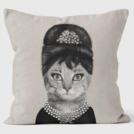 PETS ROCK(ペッツロック)クッションカバー【BREAKFAST MONO】【公式オンラインストア】 We Love Cushions takkoda ペット セレブ 有名人 犬 猫 ドッグ キャット レディース