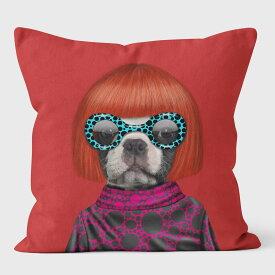 PETS ROCK(ペッツロック)クッションカバー【SPOTS II】【公式オンラインストア】 We Love Cushions takkoda ペット セレブ 有名人 犬 猫 ドッグ キャット レディース