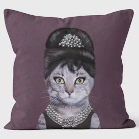 PETS ROCK(ペッツロック)クッションカバー【Breakfas】【公式オンラインストア】 We Love Cushions takkoda ペット セレブ 有名人 犬 猫 ドッグ キャット レディース