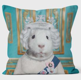 PETS ROCK(ペッツロック)クッションカバー【HRH】【公式オンラインストア】 We Love Cushions takkoda ペット セレブ 有名人 犬 猫 ドッグ キャット レディース