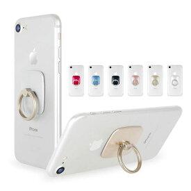 スマホリング バンカーリング GOOSPERY マーキュリー ワウリング iPhone7 スマートリング ホールドリング 落下防止 スマホスタンド リングホルダー スマホリング タブレットホルダー 指輪型 携帯リング 背面リング iPhone Android GALAXY XPERIA ipad タブレット対応