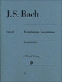 ピアノ 楽譜 J.S.バッハ   2声のインヴェンション BWV772-786   Zweistimmige Inventionen
