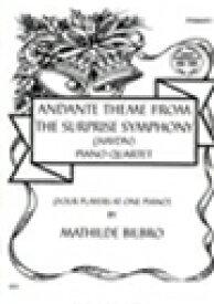 ピアノ 楽譜 ハイドン | びっくりシンフォニーよりアンダンテのテーマ(1台8手) | Andante Theme From The Surprise Symphony